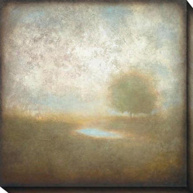 Cloudscape I Canvas Wall Art - I, White