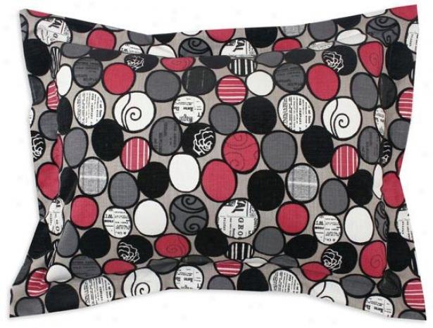Cobblestone Collection Bedding - Sham Standard, Cobblestn Ebony