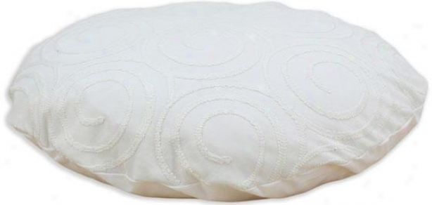 """cobblestone Collection Pet Bed - 36"""" Round, Outlook Vanilla"""