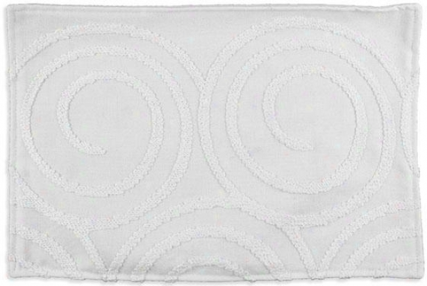 """cobblestone Collection Placemats - Lined Placemat, 12.5x19""""x, Outlook Vanilla"""