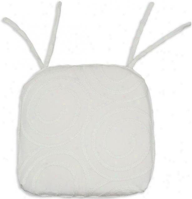 Cobblestone Collection Seat Cushions - Tuftd Fbr 17x16, Outlook Vanilla