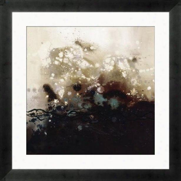 """constellations I Framed Wall Art - 33""""hx33""""w, Cube Silver Frm"""