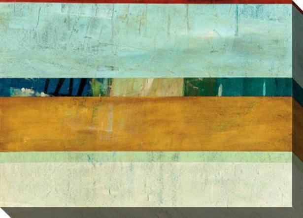 Contemporary Alleviate I Canvas Wall Art - I, Bllue