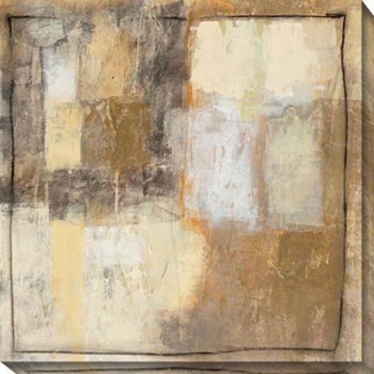 Coil I Canvas Wall Art - I, Beige