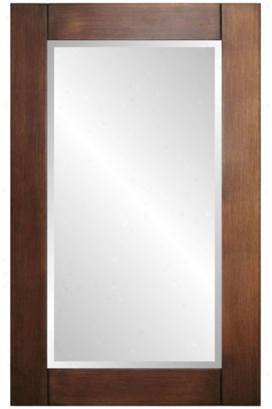 """cooper Mirror - 42""""hx26""""wx1.5""""d, Small change Leaf"""