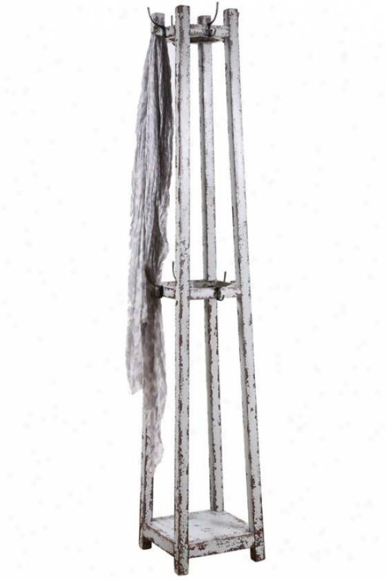 Cottage Coat Rack - 68h X 12w X 12d, Gray