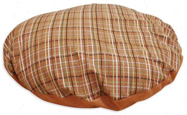 """counted Collection Pet Bed - 36"""" Round, Upstrm Pld Orng"""