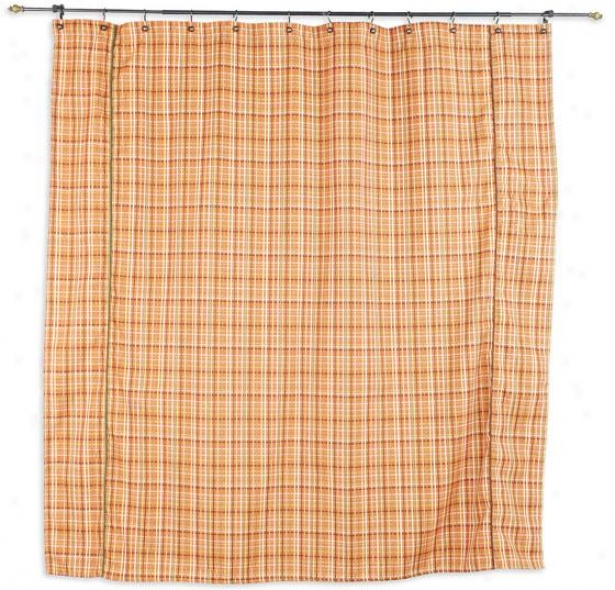 Counted Assemblage Shower Curtain - Shr Curtn 72x72, Upstream Pld Or