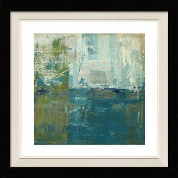 Creation Of Landscapes Ii Framed Wall Art - Ii, Floated Black