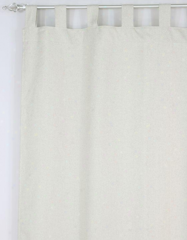 """""""crestmont Black Colleftion Curtain Panels - Tab Rise to the ~ of Unlined Panel, 54x96""""""""x, Wisdom Burlap"""""""