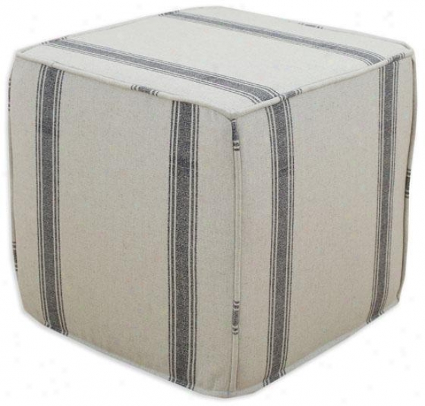 Crestmont Black Collection Ottoman - Ottoman Crd Sqr, Palais Black