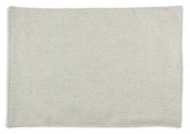 """crestmont Black Collection Placemats - Lined Placemat, 12.5x19""""x, Knowledge Burlap"""