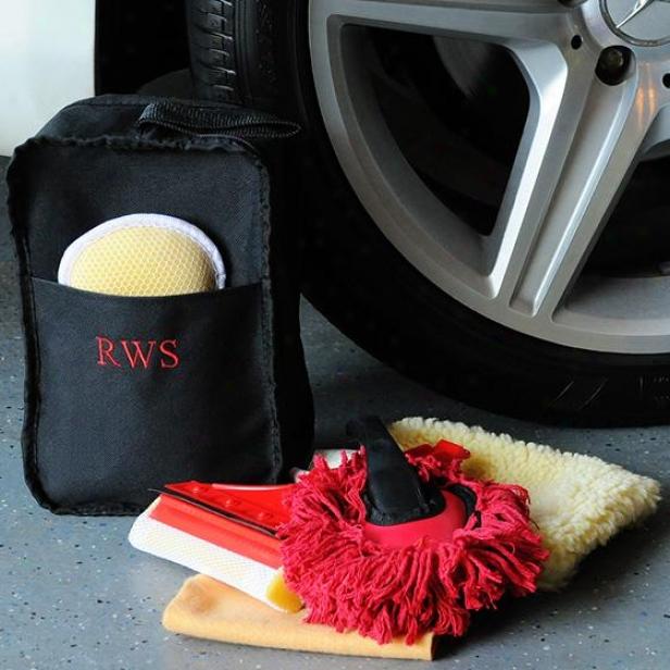 Custom Car Wash Kit - 11hx7w, Black