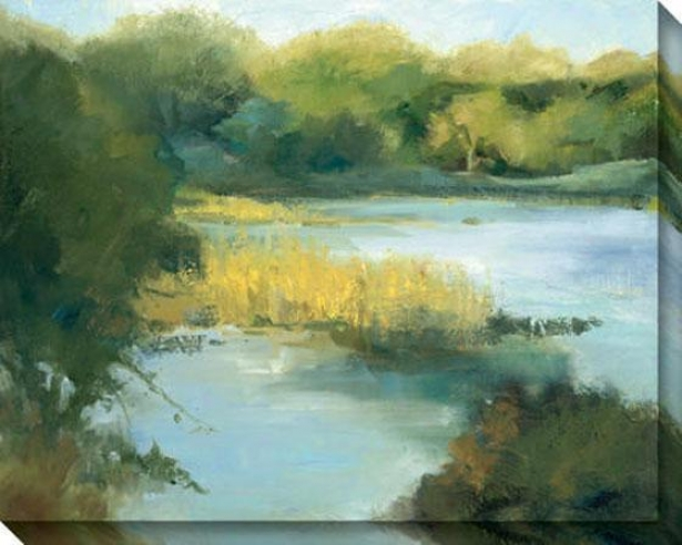 Cypress Cove Ii Canvas Wall Art - Ii, Forrest Green
