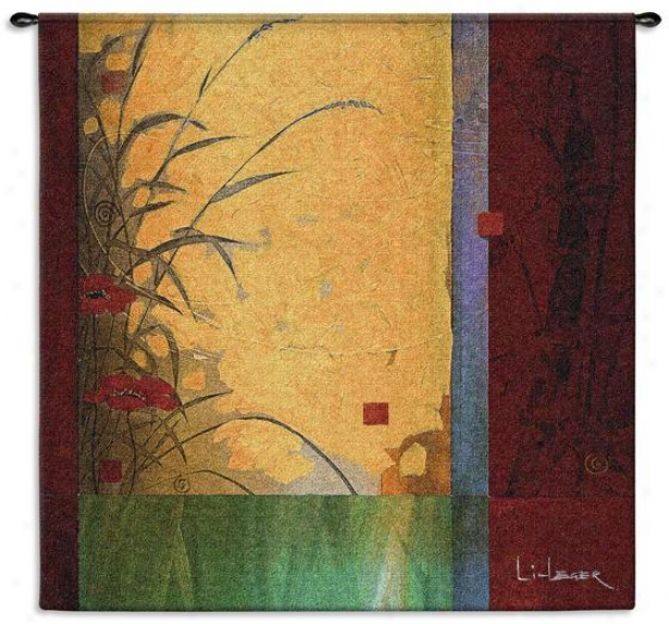 """dancing In The Air  Tapestry - 53""""nx53""""w, Multi"""