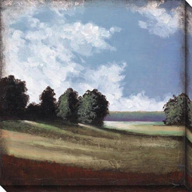 Day Gone By Ii Canvas Wall Art - Ii, Blue