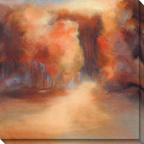 Daudream I Canvas Wall Art - I, Pumpkin