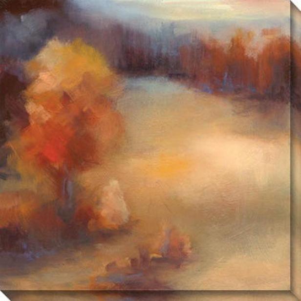 Daydream Ii Canvas Wall Art - Ii, Pumpkin