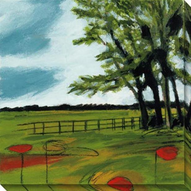 Dayspring I Canvas Wall Skill - I, Green