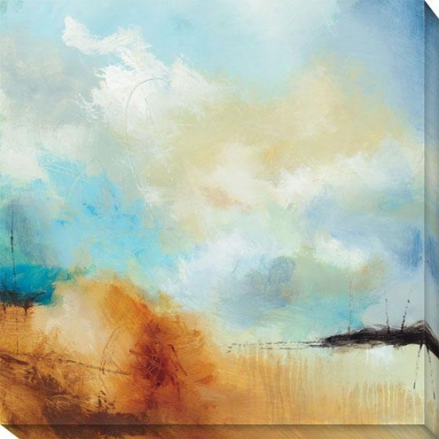 Desert Skies I Canvas Wall Art - I, Blue