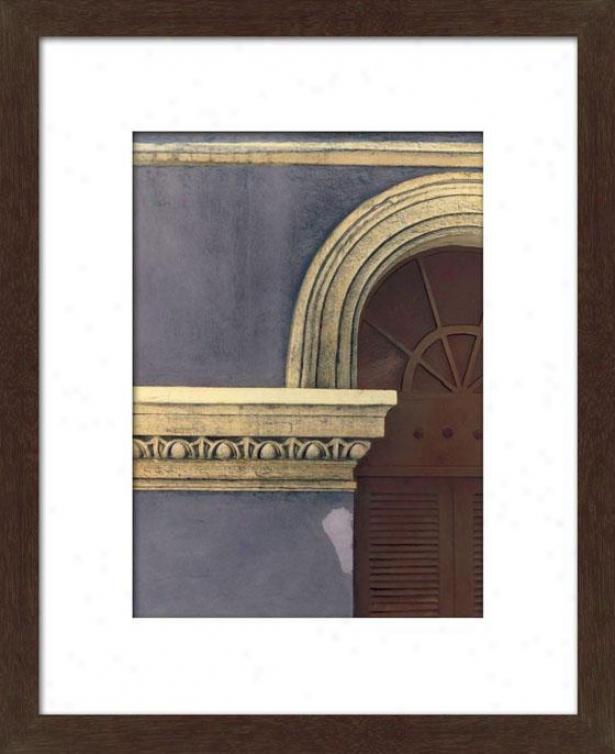 Dettaglio Iii Framed Wall Art - Iii, Matted Espresso