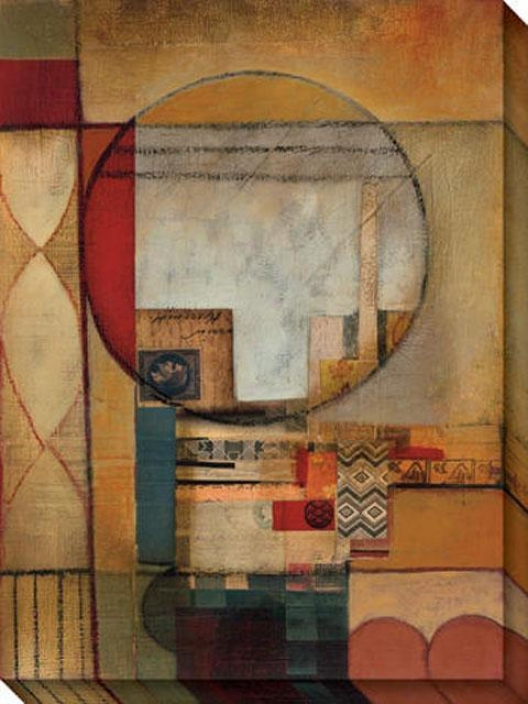 Digraphic Iii Canvas Wall Cunning - Iii, Beige