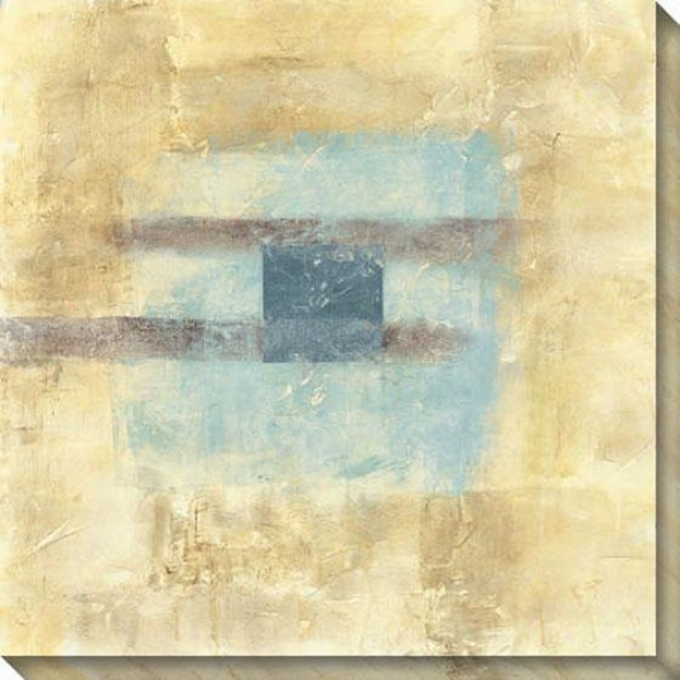 Disseminate Ii Canvas Wall Art - Ii, Ivory