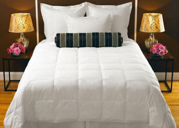 """down Collection Comforter - King 106x96"""", White"""