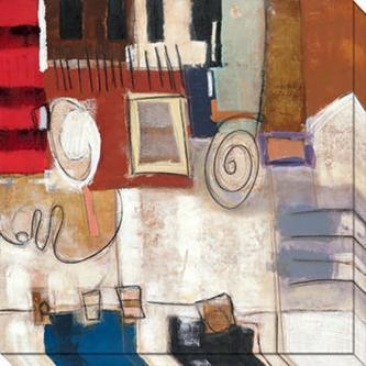 Dream Through Time Iii Canvas Wall Art - Iii, White