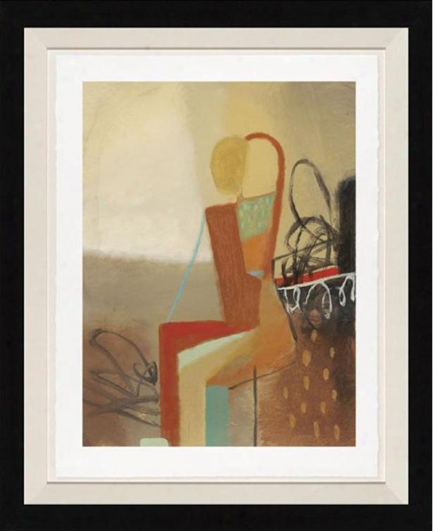 Dreamweaver I Wall Art - Black Frame, Brown