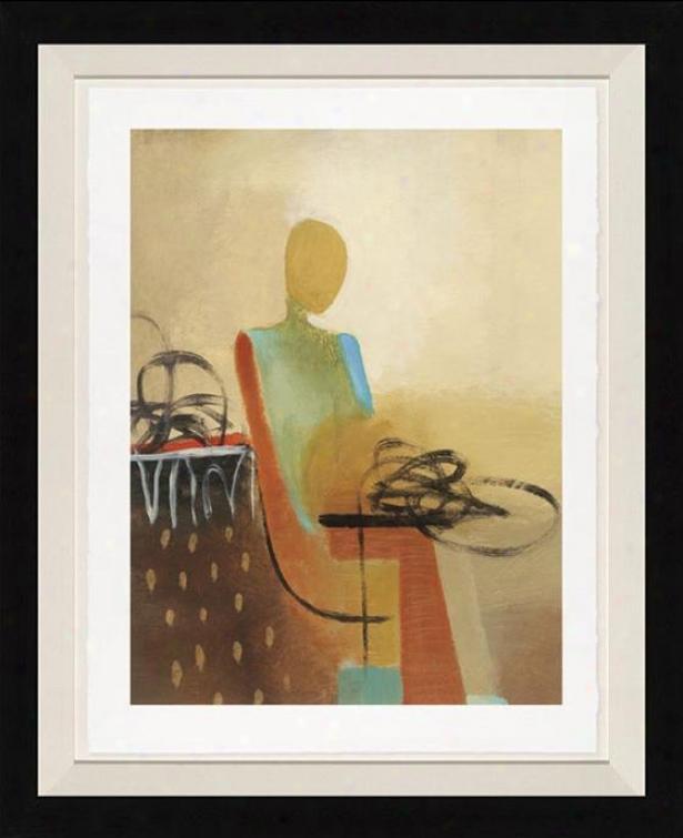Dreamweaver Ii Wall Art - Black Frame, Brown