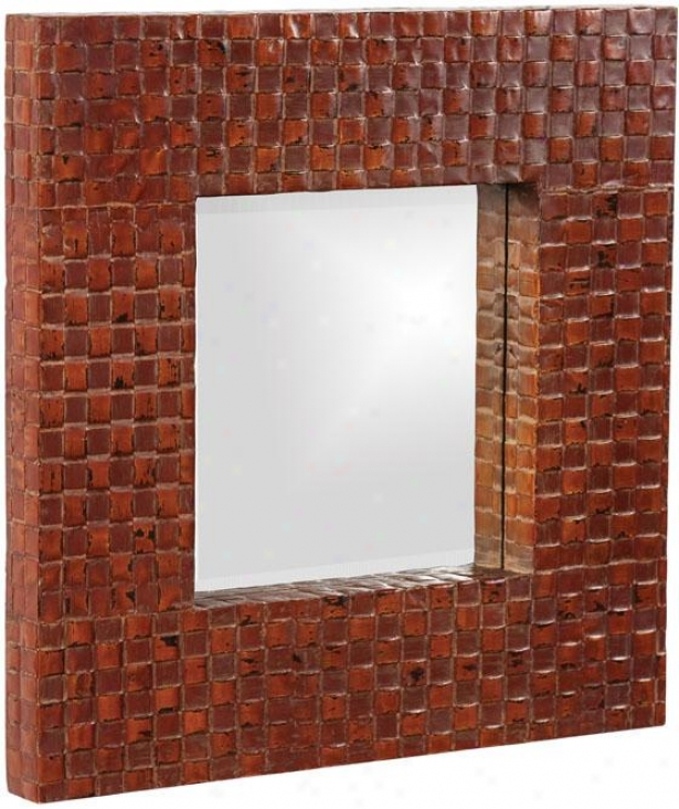 """duncan Sqaurr Mirror - 23""""square X 1""""d, Small change"""