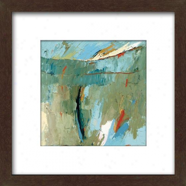 Early Dawn Comes Waking Ii Framed Wall Art - Ii, Mttd Espresso
