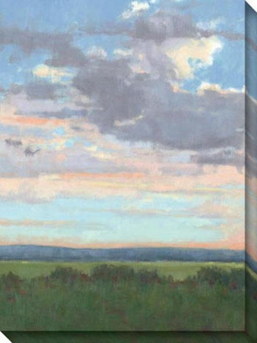 Easter Morning I Canvas Wall Art - I, Blue