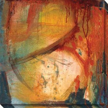 Eccentric Abstracion Viii Canvas Wall Art - Viii, Yellow