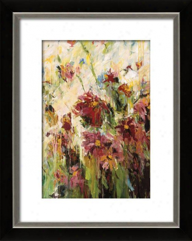 Efflorescence I Framed Wall Art - I, Mttd Black/slvr