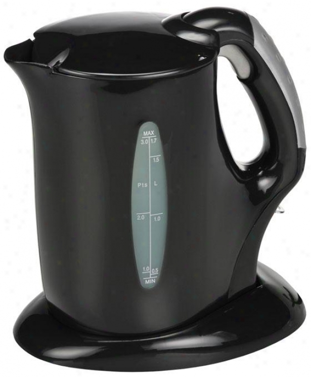 Electric Kettle - 10.3hx5wx8.5d, Happy