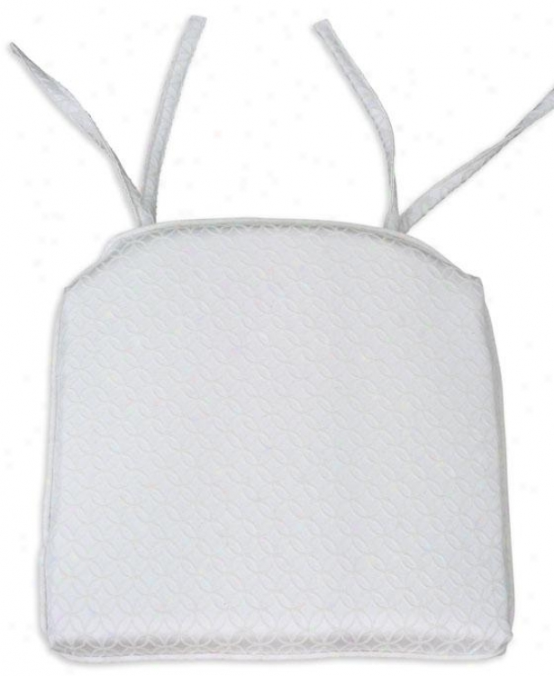 Ellis Collection Seat Cushions - Foam Corded 17s, Brush Nat Chuck