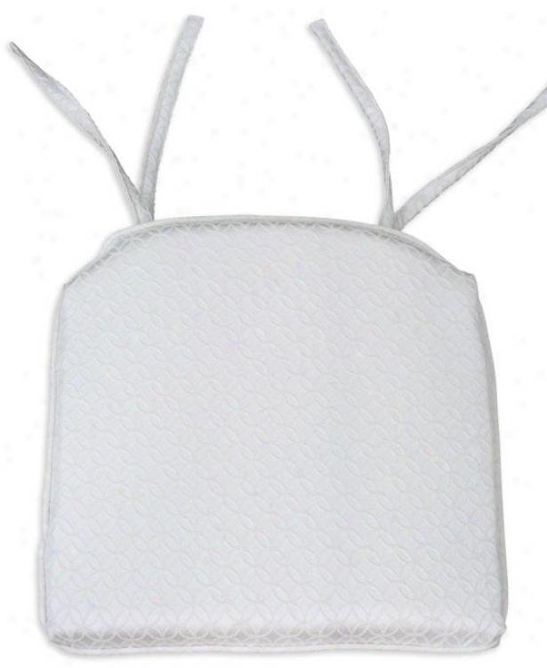 Ellis Collection Seat Cushions - Foam Corded 17s, Brush Nat Chuck