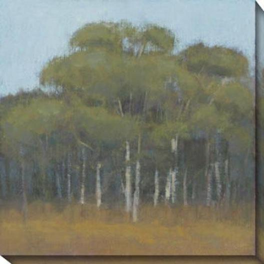 Enduring Season I Canvas Wall Art - I, Green