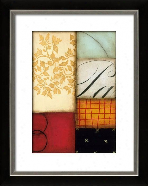 Enllghtened Ii Framed Wall Art - Ii, Mttd Black/slvr