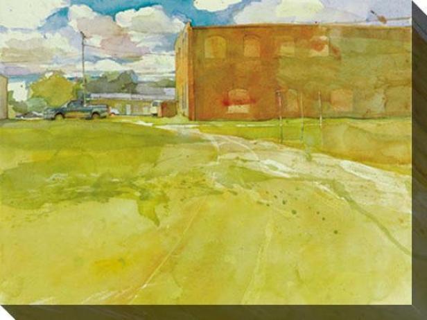 """entry Canvas Wall Art - 48""""hx36""""w, Green"""