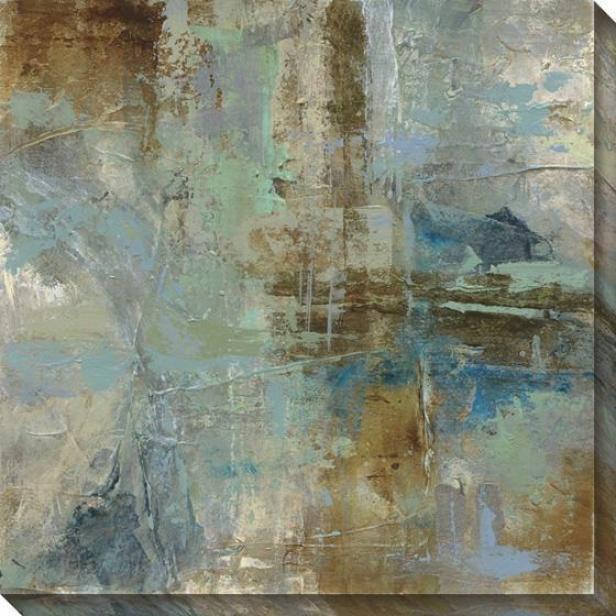 Environment Abstract Ii Wall Art - Ii, Azure