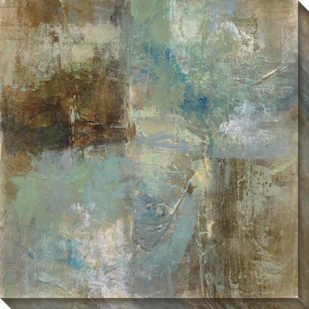 Environment Abstract Iii Wall Art - Iii, Blue
