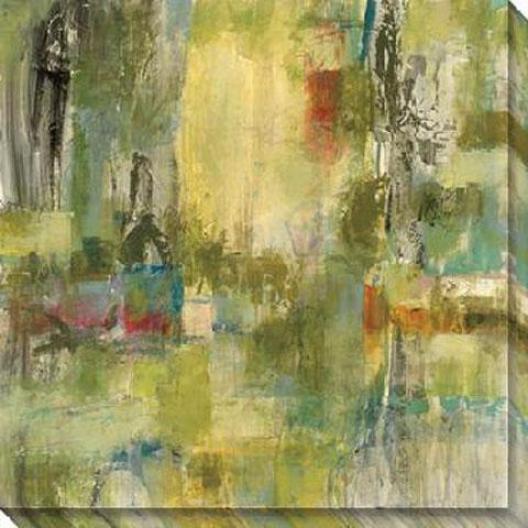 Equivalence Ii Canvas Wall Art - Ii, Green