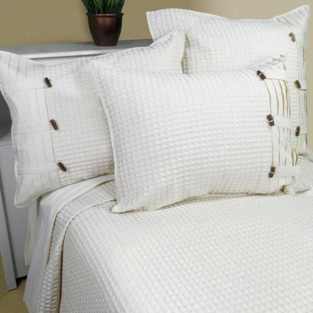 Escondido Coverlet And Sham - Coverlet F/q, Ivory