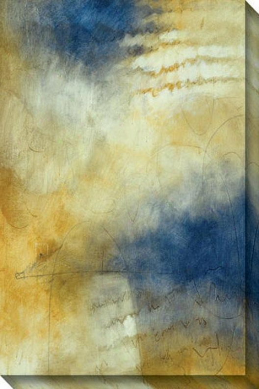 Eternal Iii Canvas Walo Art - Iii, Blue