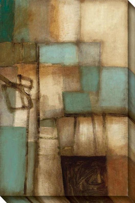Visible Circumstances I Canvas Wall Art - I, Brown