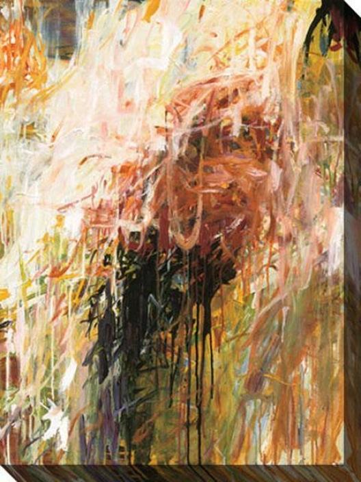 Exuberance I Canvas Wall Art - I, Tan