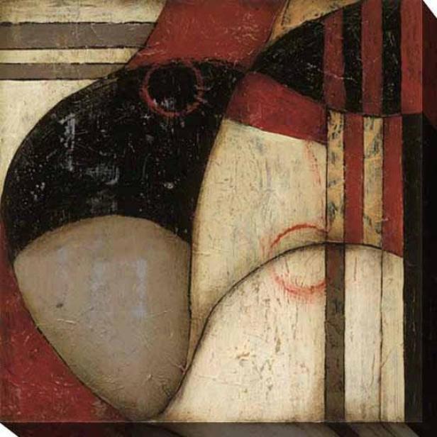 Fair And Balanced I Canvas Wall Art - I, Wicked